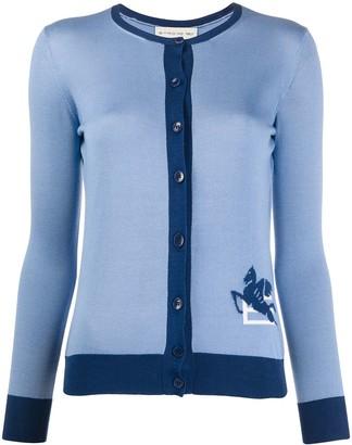 Etro Fine Knit Long Sleeve Cardigan