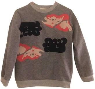 Michael Van Der Ham Grey Cotton Knitwear for Women