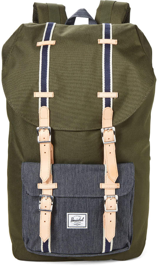 best selling new styles hot sales Green Little America Utility Backpack