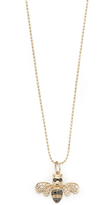 Sydney Evan Bee Necklace with Diamonds
