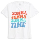 Kid Dangerous Boy's Summa Time Graphic T-Shirt