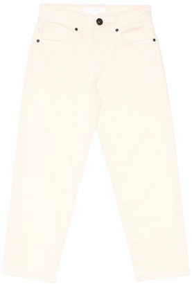 BURBERRY KIDS Stretch cotton jeans
