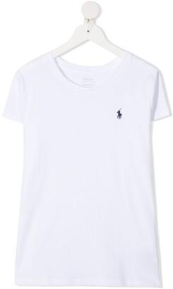 Ralph Lauren Kids TEEN Polo Pony cotton T-shirt