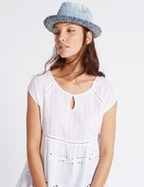 Marks and Spencer Ombre Trilby Hat