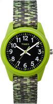 Timex Boys Green Strap Watch-Tw7c119009j