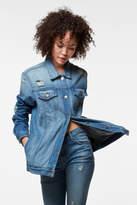 J Brand Cyra Oversized Jacket In Broken Heart
