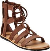 Sorel Bailee Lace-Up Leather Sandal