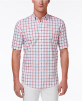 Club Room Men's Two-Color Grid-Pattern Cotton Shirt, Only at Macy's