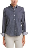 Brooks Brothers 1818 Woven Top.