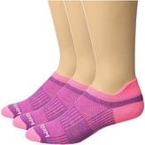 Wrightsock Cool Mesh II 3-Pack Crew Cut Socks Shoes