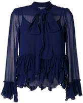 See by Chloé frilled pussy bow blouse