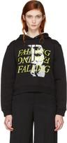 McQ Black falling Hoodie