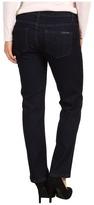 Calvin Klein Jeans Petite - Petite Straight Leg Jean in Indigo Rinse (Indigo Rinse) - Apparel