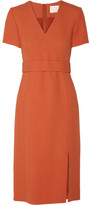 Jason Wu Belted Crepe Dress - Bright orange