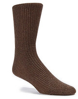 Daniel Cremieux Flat Knit Crew Dress Socks