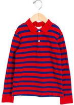 Burberry Boys' Striped Collared Polo