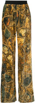 Maison Margiela fireplace print trousers - women - Viscose - 40