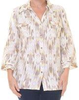 JM Collection Women's 3/4 Sleeve Top