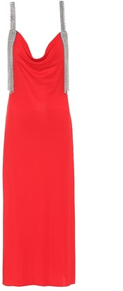 Christopher Kane Embellished technical-jersey dress