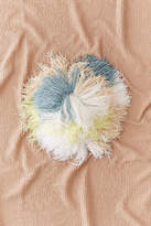 Urban Outfitters Round Shaggy Pastel Pillow