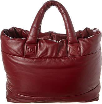 Chanel Red Xl Cocoon Tote