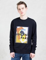 Cmmn Swdn Noah Vinyl Applique Sweatshirt