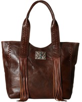 American West Mohave Canyon Large Zip Top Tote Tote Handbags