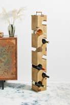 Anthropologie Wine Bottle Tower