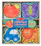 Melissa & Doug Toddler Alphabet Lacing Cards