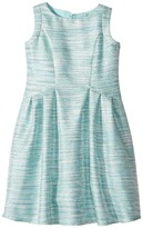Us Angels Sleeveless Cutaway Back with Box Pleat Skirt Dress Girl's Dress