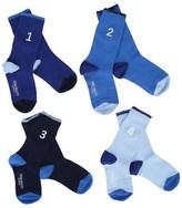 Hackett 4 Pack of Blue Socks