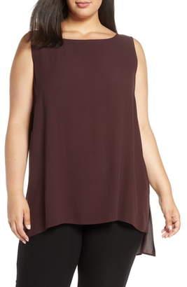 Eileen Fisher Silk Tunic Tank Top