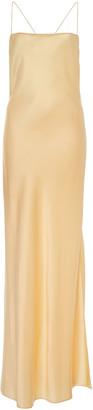 Marina Moscone Satin Slip Dress