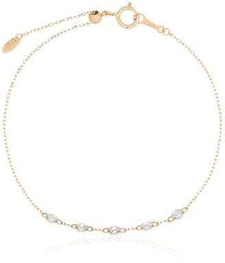 PERSÉE 18kt yellow gold Danae diamond bracelet