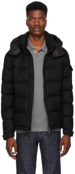 Moncler Black Down Montgenevre Jacket