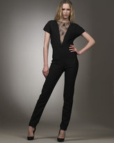 Stella McCartney Lace-Inset Jumpsuit