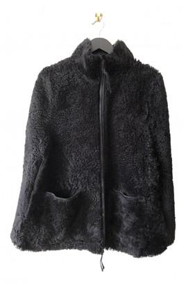 Marni Black Shearling Jackets