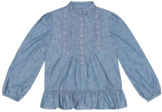 Polo Ralph Lauren Cotton chambray blouse