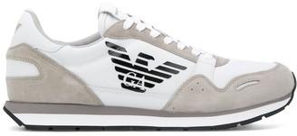 Emporio Armani Logo Printed Sneakers