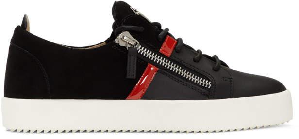 Giuseppe Zanotti Black May London Sneakers