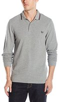 Fred Perry Men's FP LS Twin Tipped Polo Shirt,S