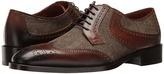 Etro Wingtip Paisley Blucher Men's Lace Up Wing Tip Shoes