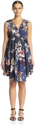 Lucca Couture Women's Midi Dress
