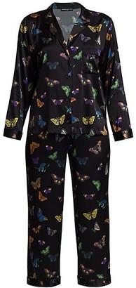 Generation Love Nikki 2-PIece Butterfly Print Pajama Set