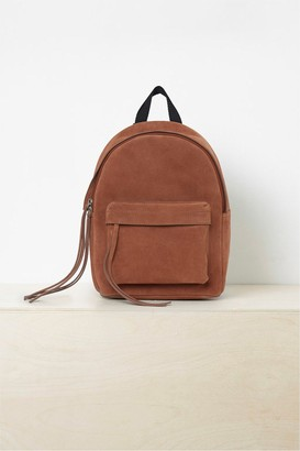 French Connection Libby Suede Backpack