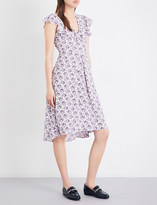 Claudie Pierlot Rosalie crepe dress