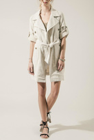 Moon River Summer Linen Trench