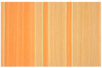 One Kings Lane Jola Kids' Rug - Orange/Lime - 4'x6'