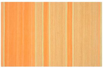 One Kings Lane Jola Kids' Rug - Orange/Lime - 5'x8'