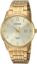 Citizen Men's Quartz Stainless Steel Casual Watch, Color:-Toned (Model: BI5002-57Q)